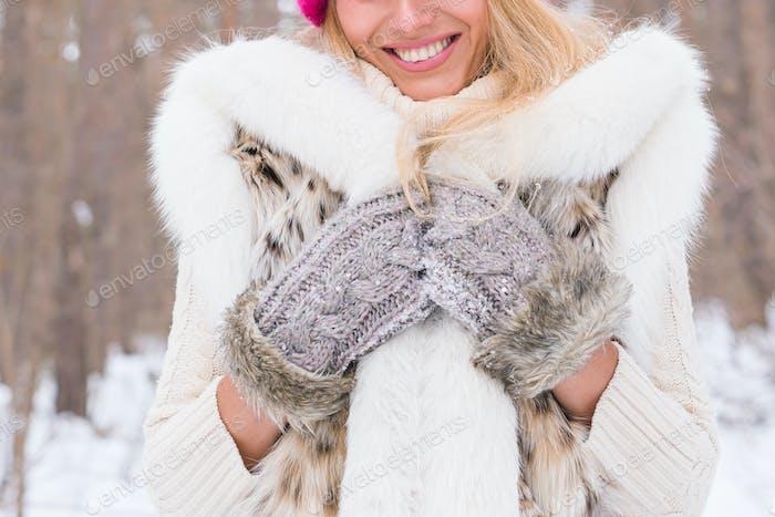 hermosas fotos de invierno naturaleza Concepto De Naturaleza Moda Y Gente Vertical De Cerca De