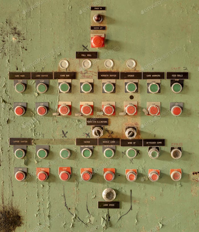 old switch board
