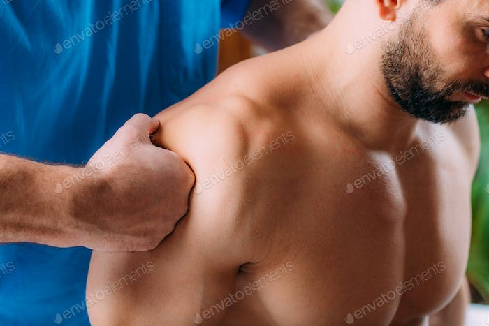 Shoulder Sports Massage Physical Therapy