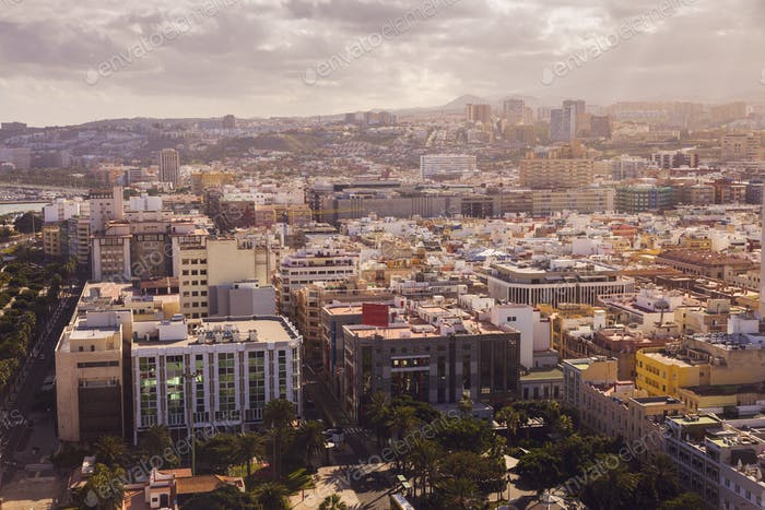 Panorama of Las Palmas