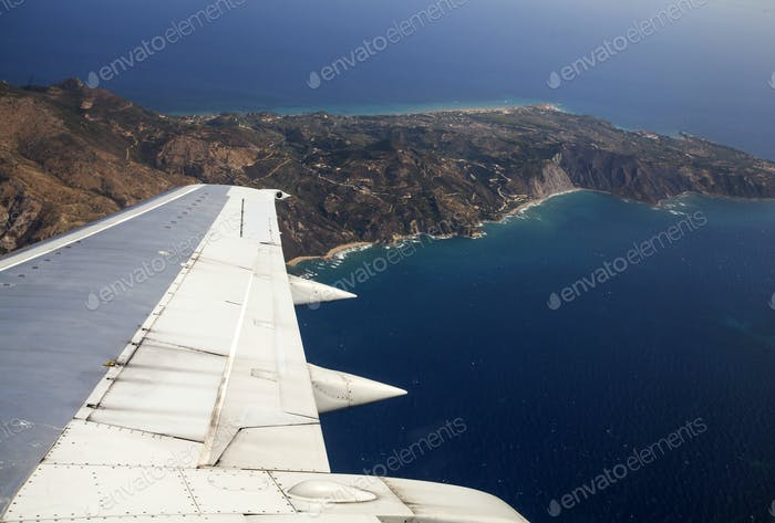 Aerial View of Zakynthos