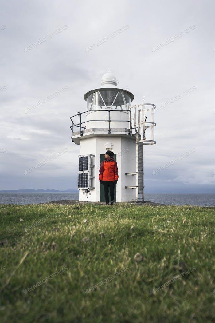 Vaternish Lighthouse at Isle of Skye