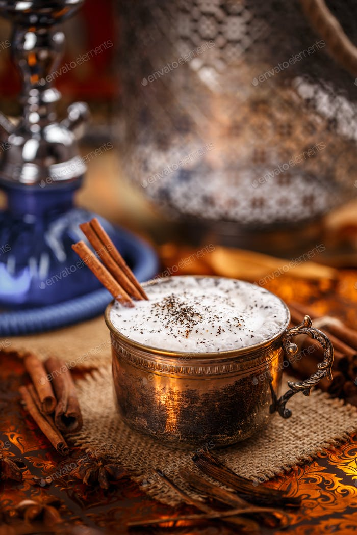 Chai, a rich and creamy mixture
