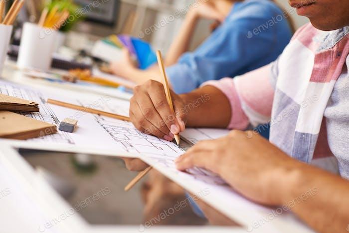 Making sketch