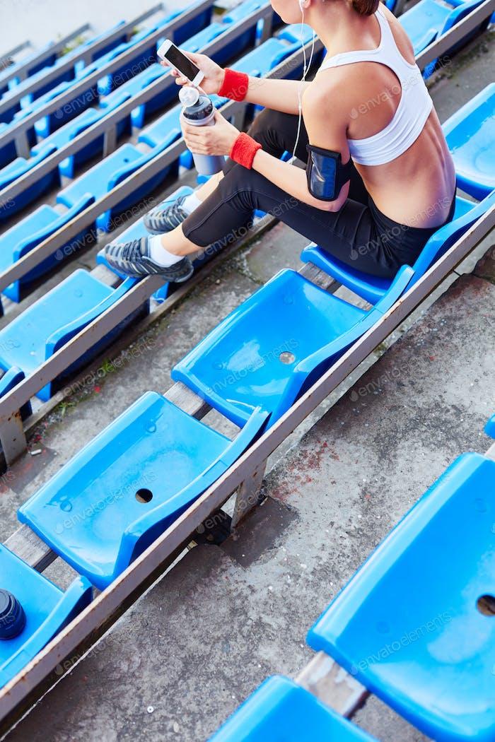 Leisure at stadium