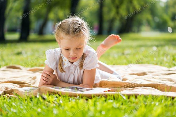 Summer weekend in park