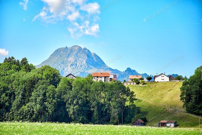 Landschaft der Schweiz