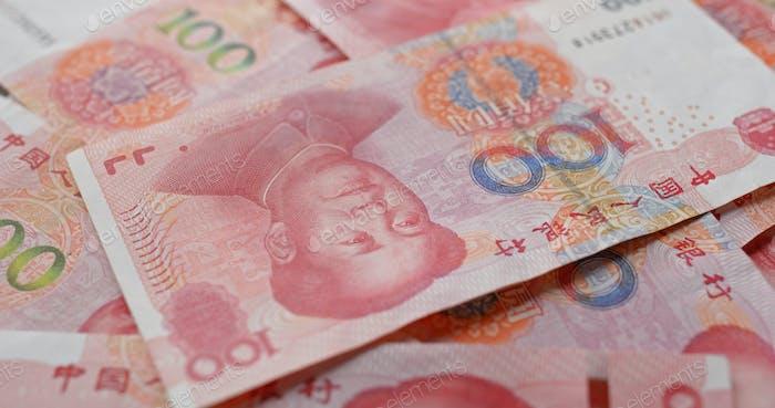 Chinese RMB banknote