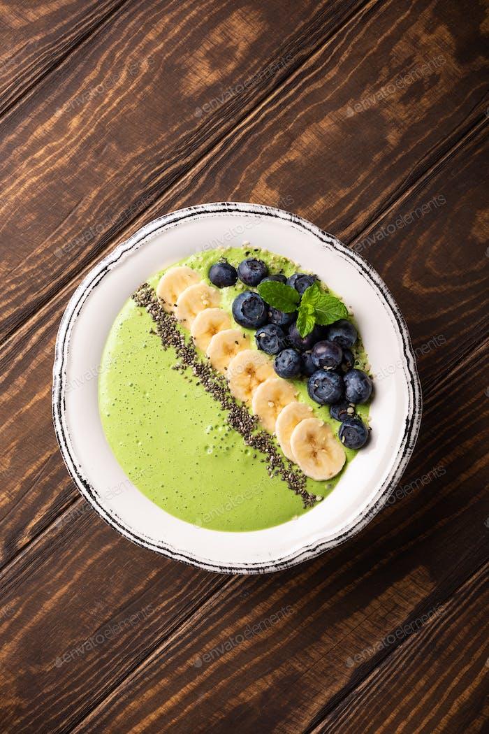 Breakfast Detox Green Smoothie
