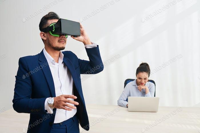 Virtual reality app developers