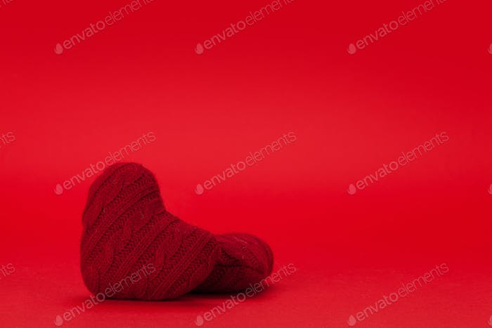Valentines day heart decor backdrop