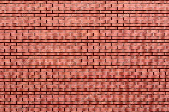 Rote Ziegelmauer Textur. Hintergrund mit Kopierraum für Design