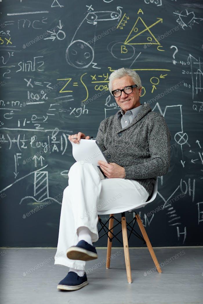 Professor von blackboard