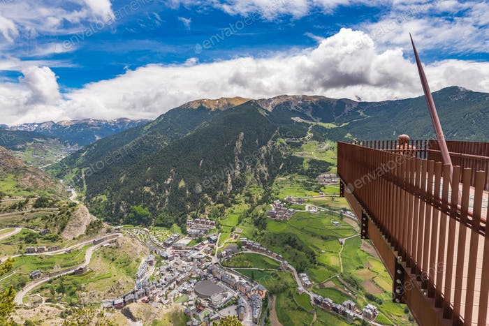 Viewing platform in Andorra