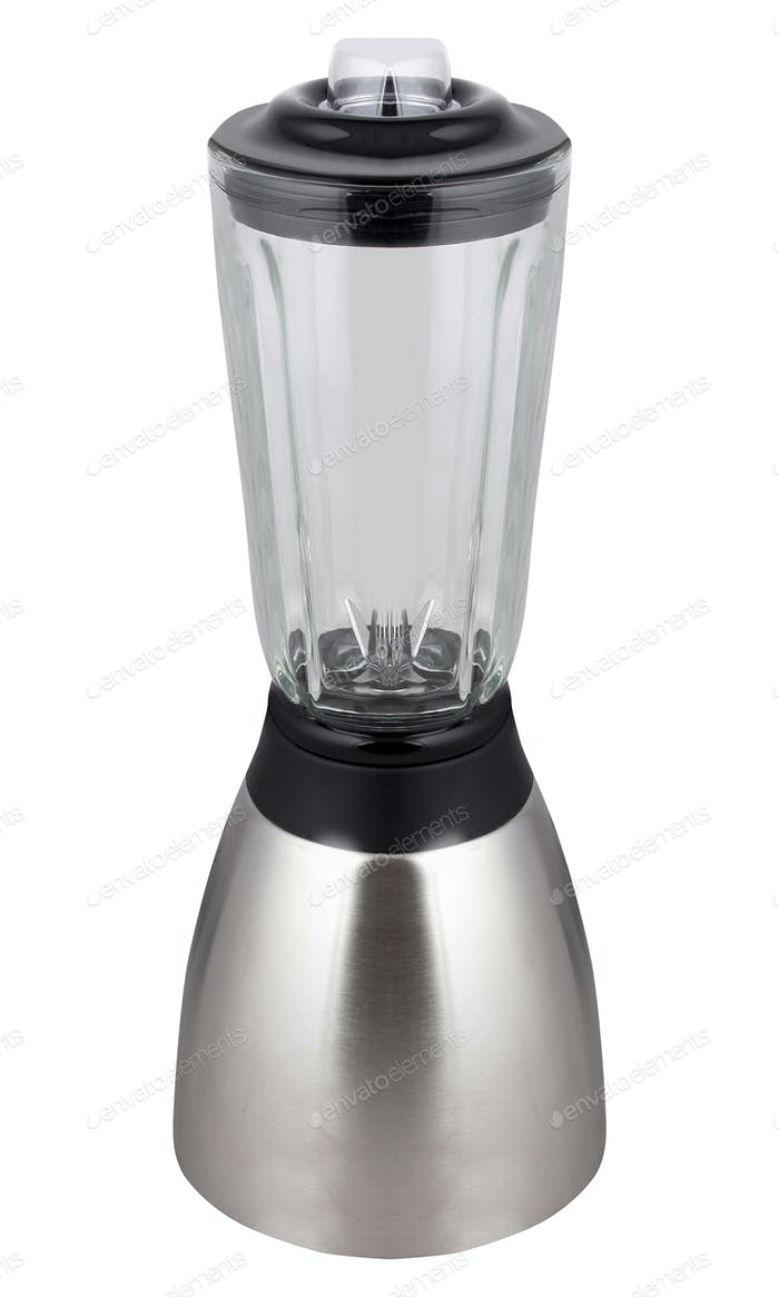 Electric blender isolated