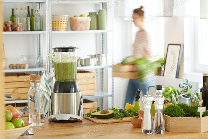 Vegan eco kitchen