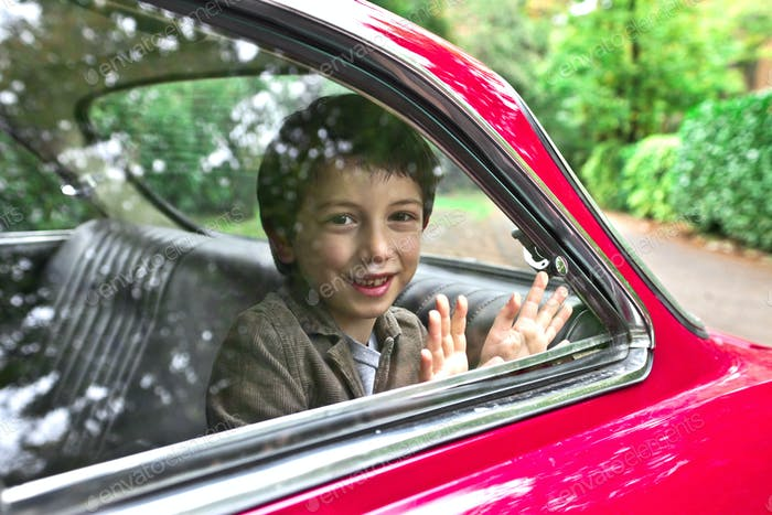 Child in a Car