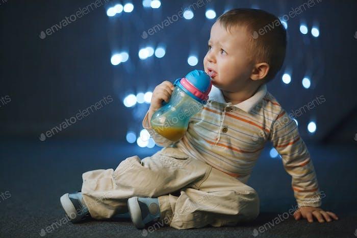photo of cute little boy