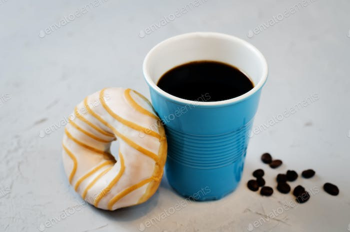 Donuts with coffee