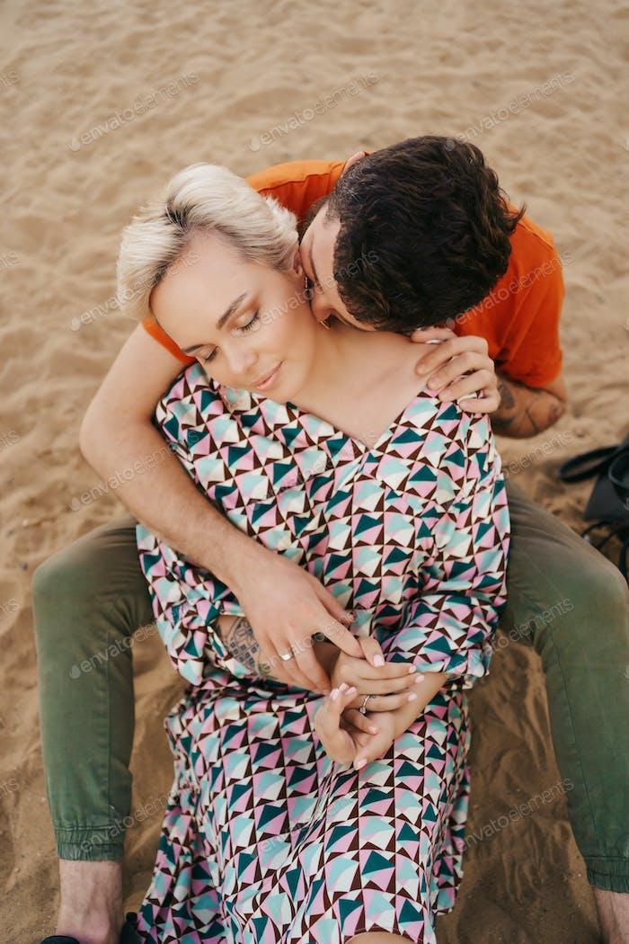 Beautiful couple enjoy vacation