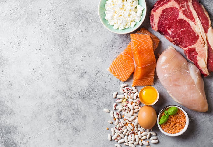 Natural sources of protein