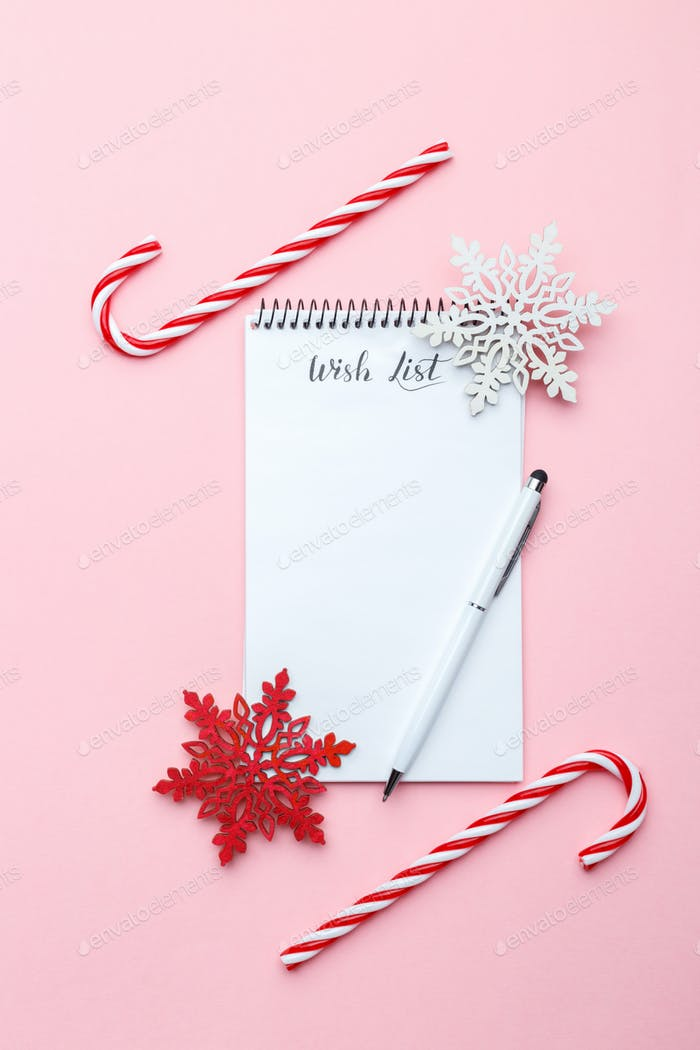 Weihnachts-Wunschzettel Vorlage