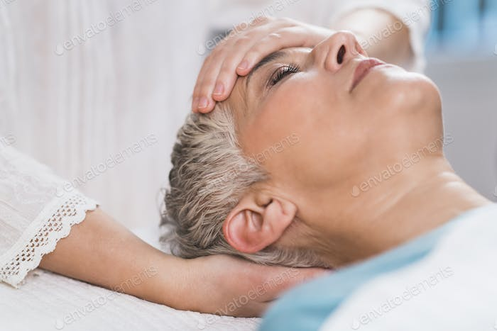 Marma Therapy. Ayurveda Face Therapy