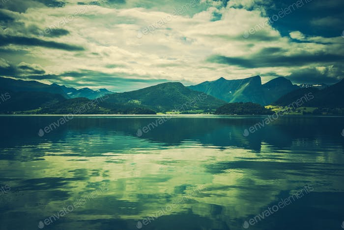 Norwegian Scenic Landscape