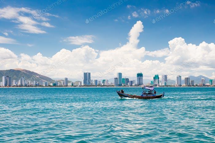Skyline de Nha Trang Vietnam