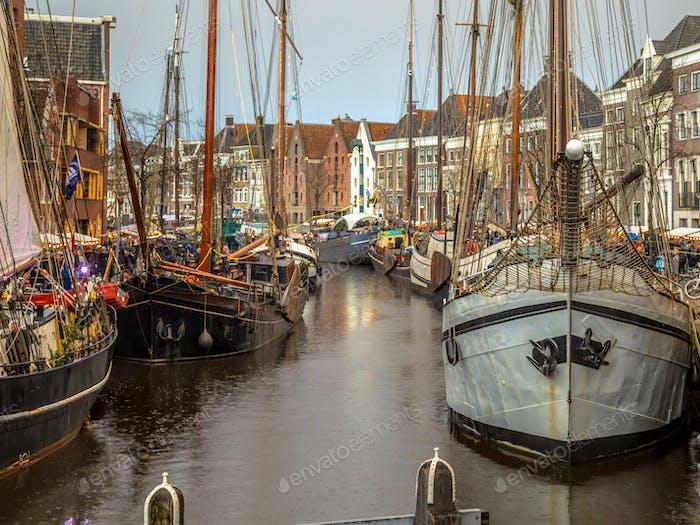 Historische Segelschiffe Groningen