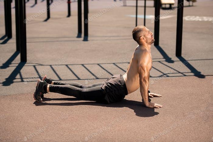 Training for back