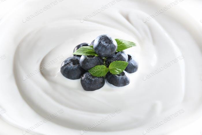 Joghurt-Essen
