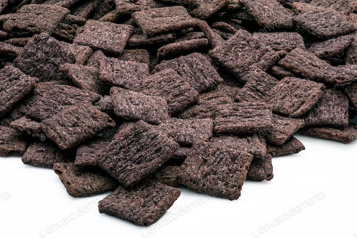 Black Rice Crackers. Healthy Snack