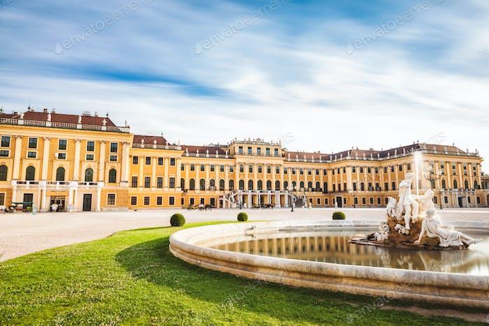 Schloss Schonbrunn in Wien, Österreich