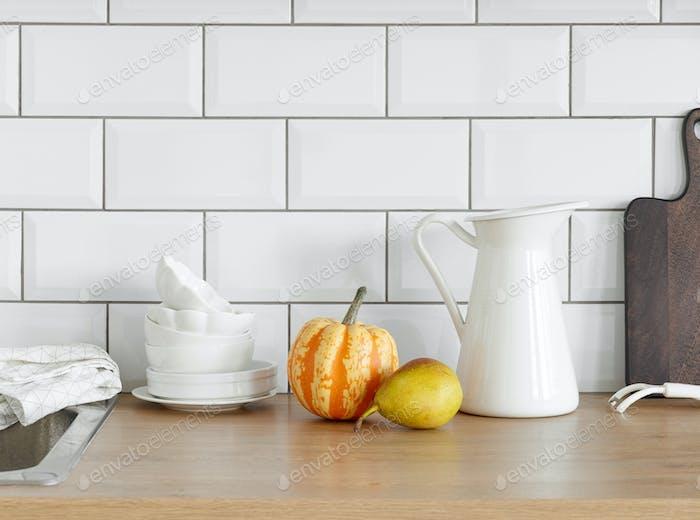 fragment of kitchen