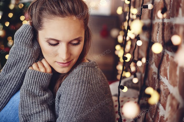Christmas time spending in loneliness