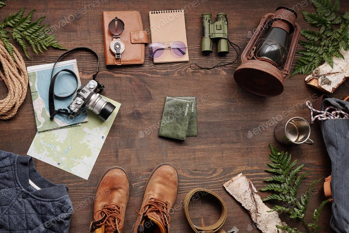 Stuff for forest hiking abroad