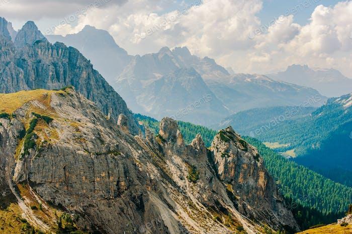 Dolomiten Bergkette