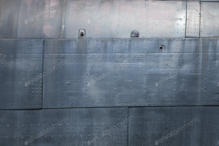 Metal Ship Plate Background Texture