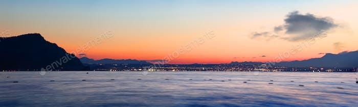 Seashore view of Antalya