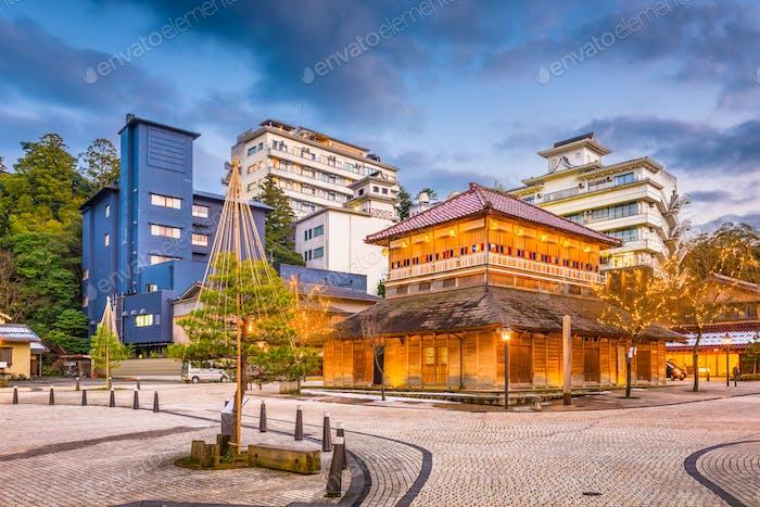 Japanese Hot Springs Bath Houses