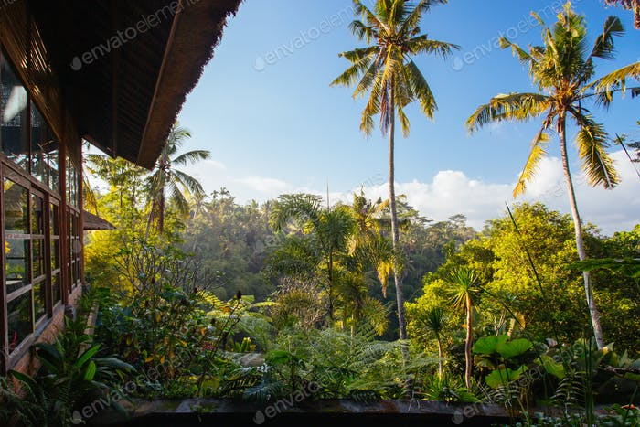 Luxury Villa View Near Ubud Bali Indonesia