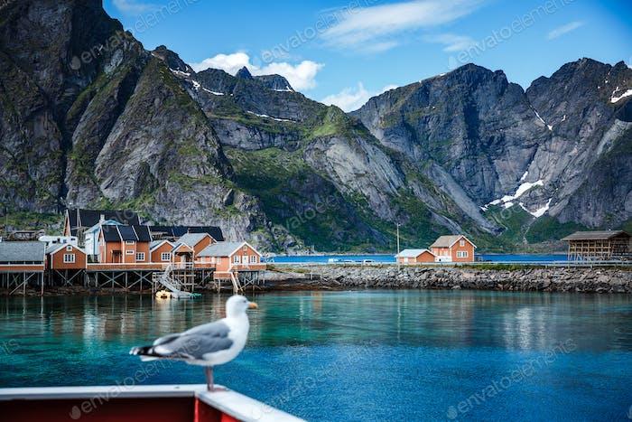 Lofoten archipelago islands islands Norway