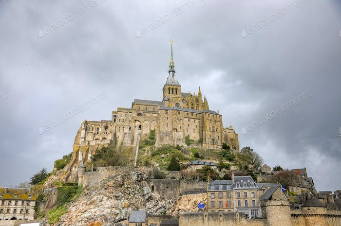 Great Le Mont-Saint-Michel in France