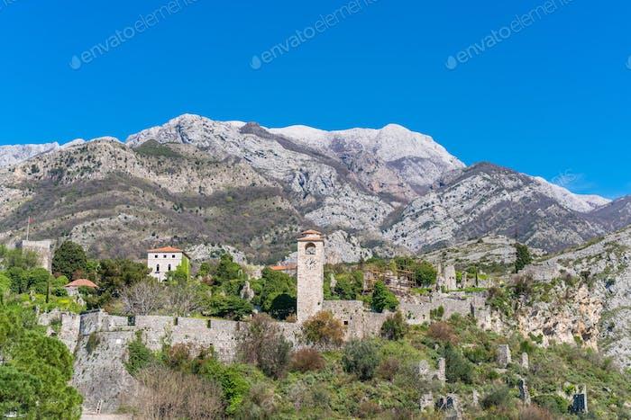 Stari Bar ruins in Montenegro