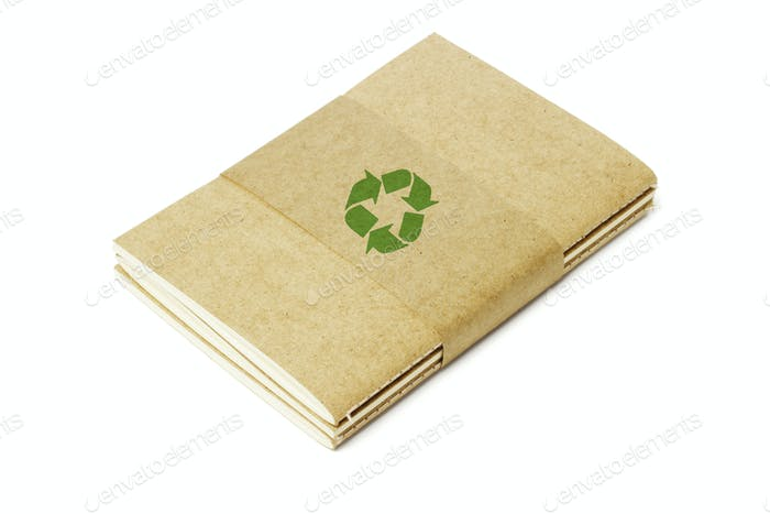 Thread Sew Books with Recycled Symbol