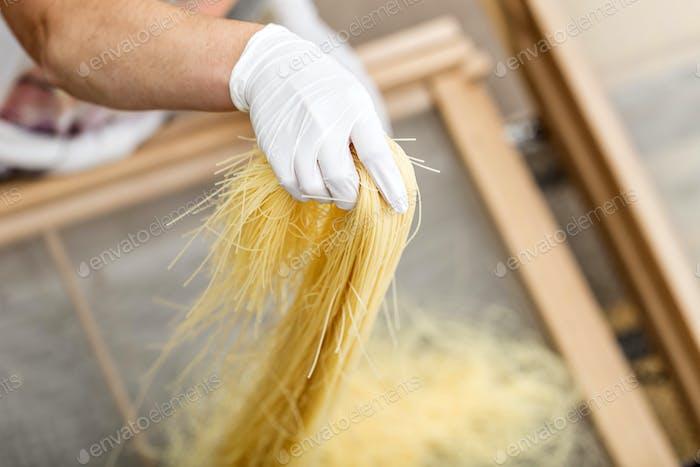 Herstellung von Pasta