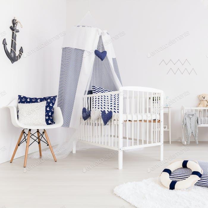 Unisex minimalist nursery