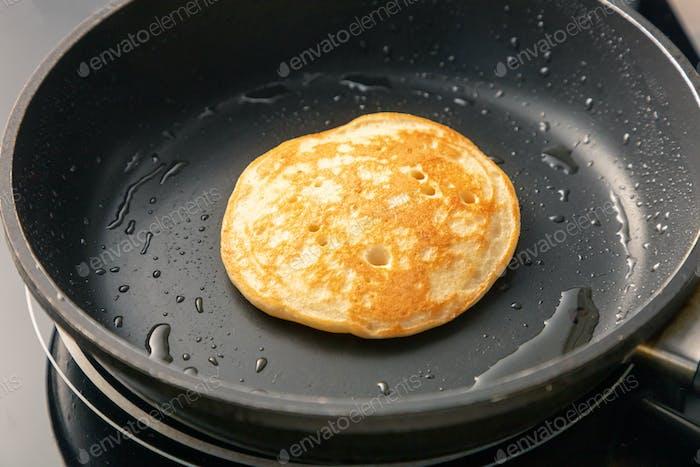 freshly baked pancake
