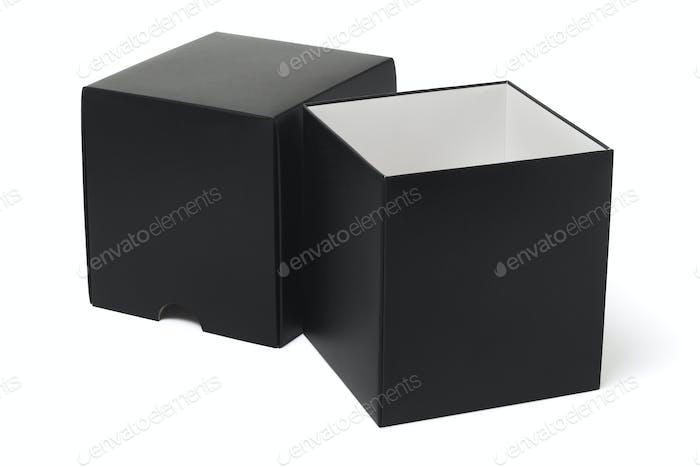Offene Geschenkbox
